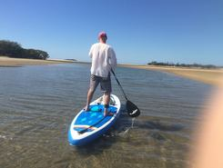 Maroochy River paddle board spot in Australia