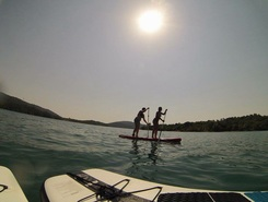 lac de saint cassien paddle board spot in France