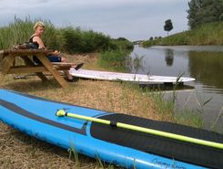 veersewatergang spot de stand up paddle en Pays-Bas