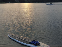 Bayou Texar sitio de stand up paddle / paddle surf en Estados Unidos