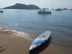 Cavalaire / cap lardier paddle board spot in France