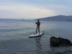koloparhas paddle board spot in Greece