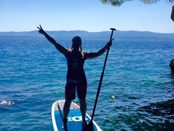 Zlatni Rat paddle board spot in Croatia