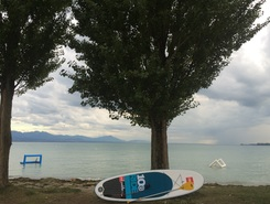 Preverenges spot de stand up paddle en Suisse