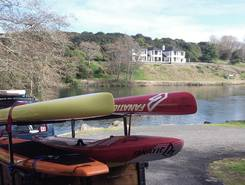 Waikato River sitio de stand up paddle / paddle surf en Nueva Zelanda