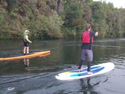 Waikato River paddle board spot in New Zealand