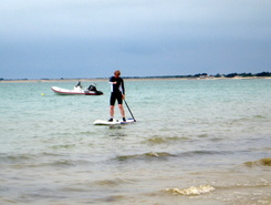 La Couarde sitio de stand up paddle / paddle surf en Francia