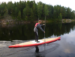 Nöklevann sitio de stand up paddle / paddle surf en Noruega