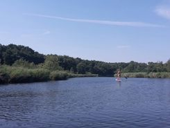 dewichow paddle board spot in Germany