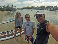 huntington harbor paddle board spot in United States