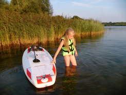 Offlumer See sitio de stand up paddle / paddle surf en Alemania
