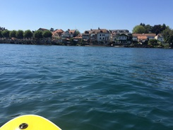 Port Choiseul paddle board spot in Switzerland