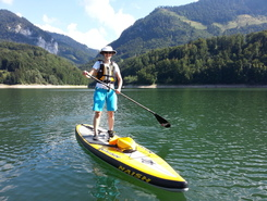 Lac de Montsalvens sitio de stand up paddle / paddle surf en Suiza