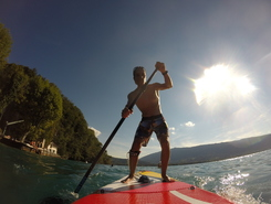 Roc de chere spot de stand up paddle en France