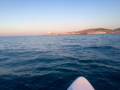 Vieste City spot de stand up paddle en Italie