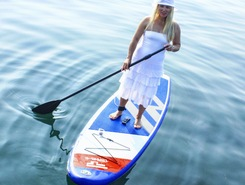 Baikal lake sitio de stand up paddle / paddle surf en Rusia