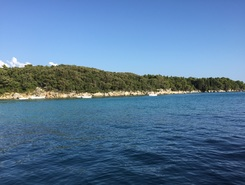 Suna Punto  paddle board spot in Croatia
