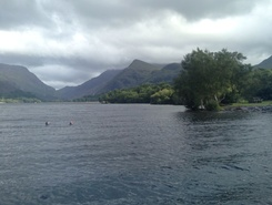 Lake Padarn ,North Wales paddle board spot in United Kingdom