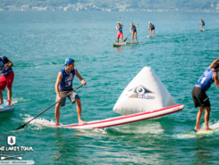 montreux paddle board spot in Switzerland