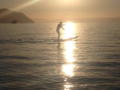 Lac Léman - Villeneuve sitio de stand up paddle / paddle surf en Suiza