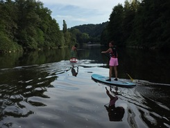 Mava paddle board spot in Belgium
