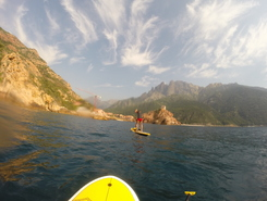 Girolata spot de stand up paddle en France