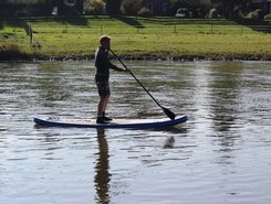 Weser bei Grohnde sitio de stand up paddle / paddle surf en Alemania