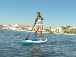 palm beach spot de stand up paddle en France