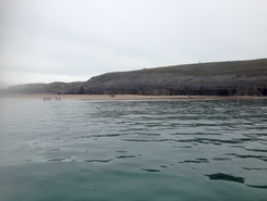 Broad Haven South sitio de stand up paddle / paddle surf en Reino Unido