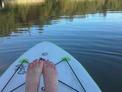 Lopwell Dam spot de stand up paddle en Royaume-Uni