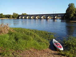 Confluence Loire/Cher spot de stand up paddle en France