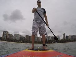 Praia do iate clube paddle board spot in Brazil