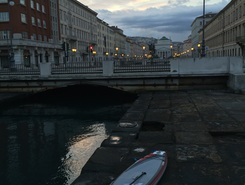 Canal Grande Entrance spot de stand up paddle en Italie