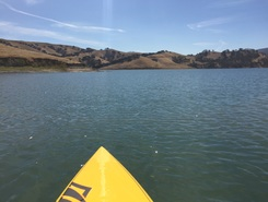 Lake Del Valle spot de stand up paddle en États-Unis