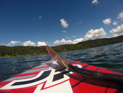 Laacher see spot de stand up paddle en Allemagne