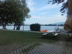 hard - lake of constance - bodensee paddle board spot in Austria