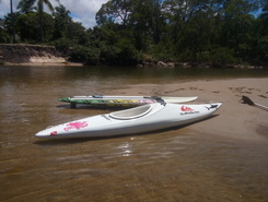 Rio Mamucabas paddle board spot in Brazil