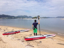 yamada spot de stand up paddle en Japon