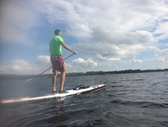 Pie Pipa Daugava paddle board spot in Latvia