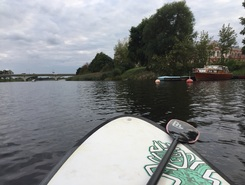 SUPx paddle board spot in Latvia