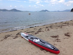 yashima paddle board spot in Japan