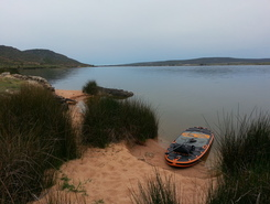 Verlorenvlei paddle board spot in South Africa