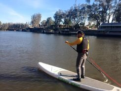Echuca paddle board spot in Australia