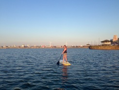 New Brighton Marine Lake spot de stand up paddle en Royaume-Uni