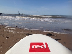 Leasowe bay spot de stand up paddle en Royaume-Uni
