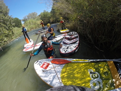 Rio Cabriel paddle board spot in Spain