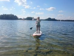 su katka pasiplaukem paddle board spot in Lithuania