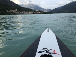 Barcis  paddle board spot in Italy