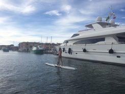 Port-Grimaud paddle board spot in France
