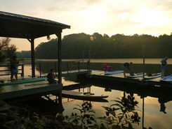 Tennessee River, take out at Booker T. Washington S.P. sitio de stand up paddle / paddle surf en Estados Unidos